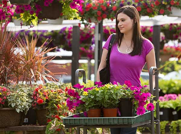 Need help? Visit your local garden center!