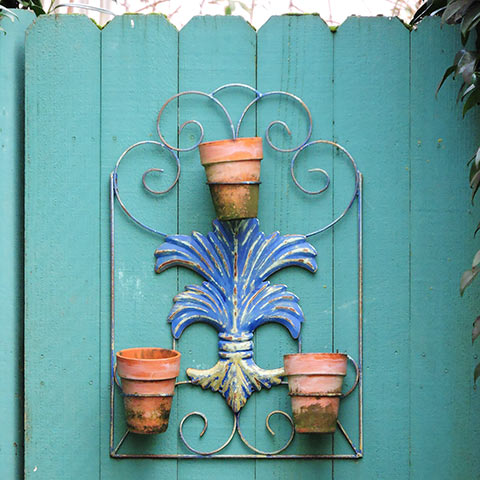 Bring any terra-cotta containers inside for the winter.